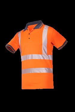 Sioen Poloshirts Tiola fluo-oranje