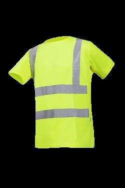 Sioen T-shirts Omero fluo-geel