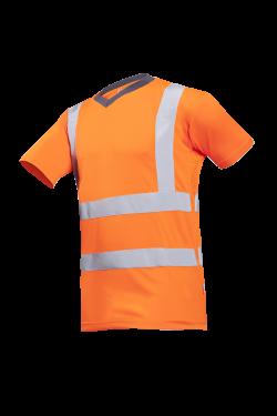 Sioen T-shirts Oria fluo-oranje