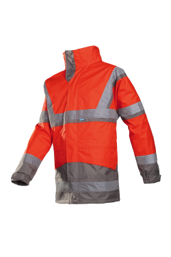 Powell - Rouge Fluo/Gris