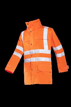Sioen Jassen Preston fluo-oranje