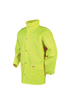 Sioen Regenjassen Dortmund HV  fluo-geel