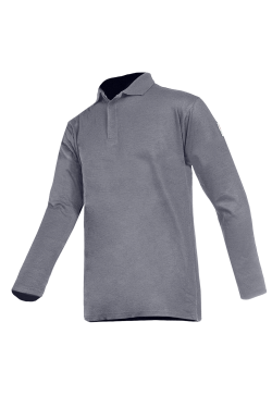 Sioen Poloshirts Polton Multinorm grijs