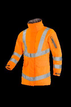 Sioen Jassen Talia High Vis Inrits-systeem fluo-oranje