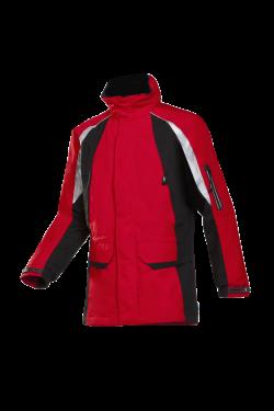 Sioen Jassen Tornhill rood-zwart