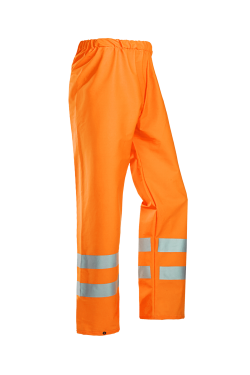 Sioen Regenbroeken Bastogne  fluo-oranje