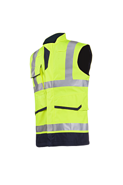 Flaxton - Hi-Vis Yellow/Navy