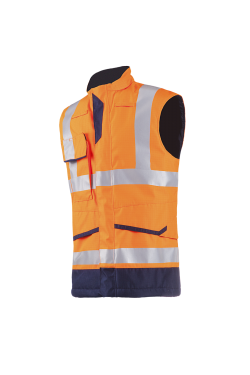Flaxton - Hi-Vis Orange/Navy